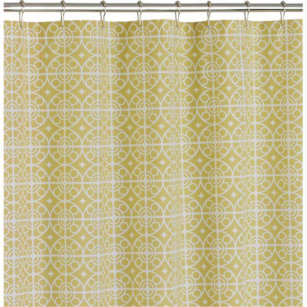 Taza Citron Shower Curtain