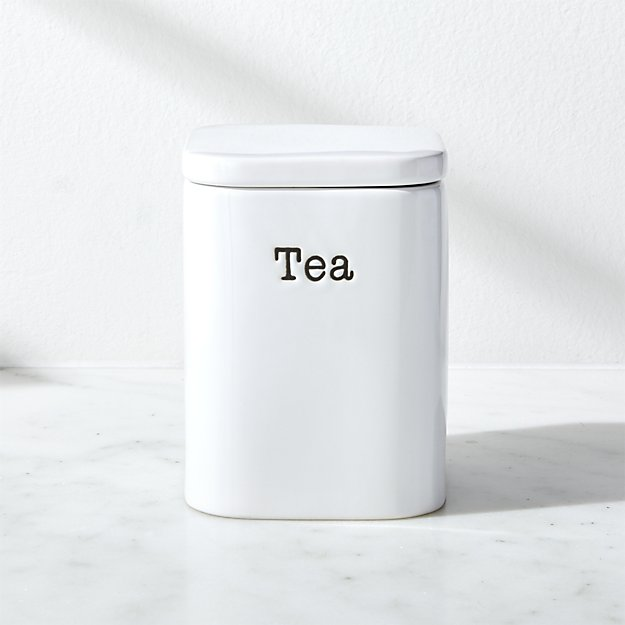 Tea Storage Canister - Image 1 of 2