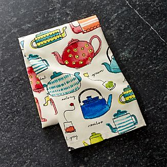 Tea Time Dish Towel