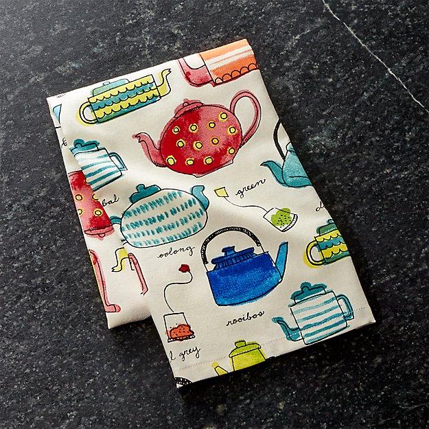 Tea Time Dish Towel - Image 1 of 6