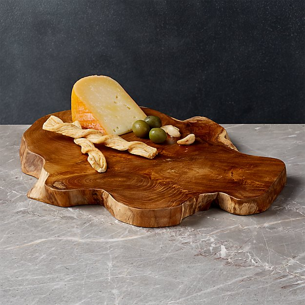 Teak Root Wedge Reclaimed Wood Serving Board Reviews