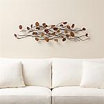 Teakroot Discs Wood Wall Art