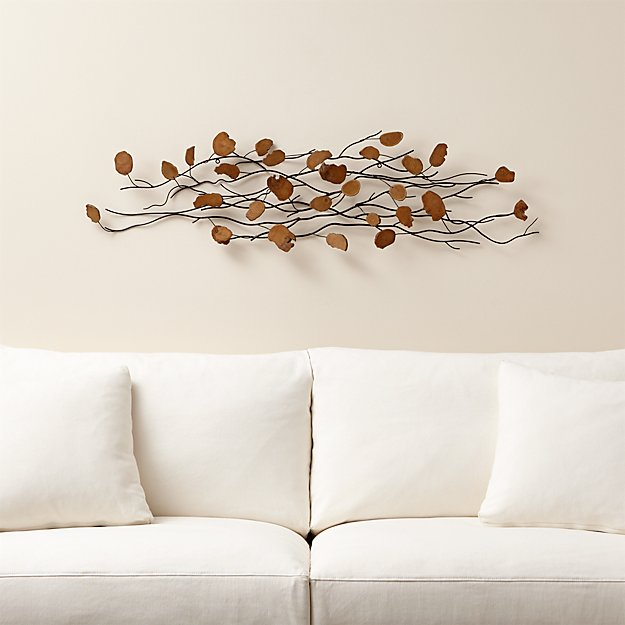 Teak wood wall art reviews crate and barrel