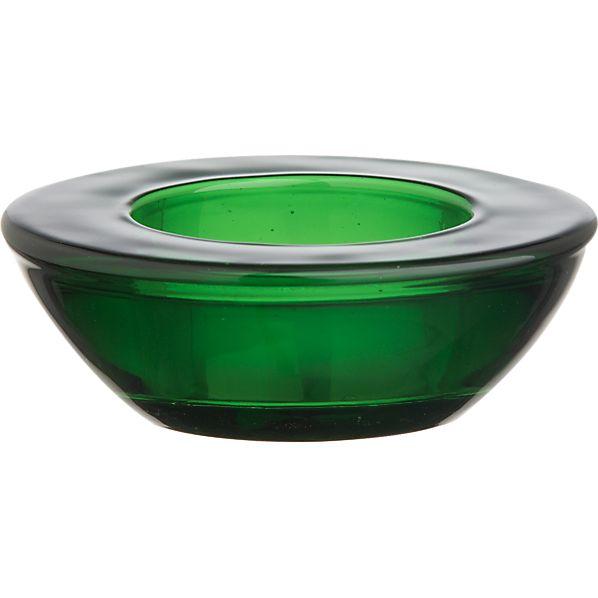Green Candleholder