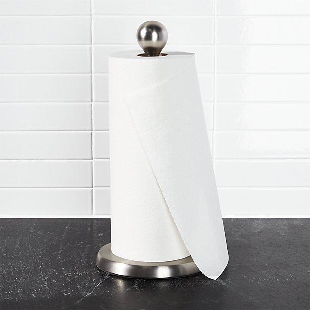 paper towel holder. Umbra Tear Drop Paper Towel Holder  Crate and Barrel