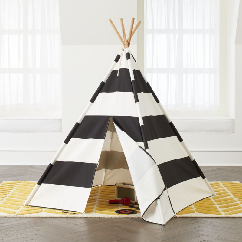 Black And White Teepee Reviews Crate And Barrel