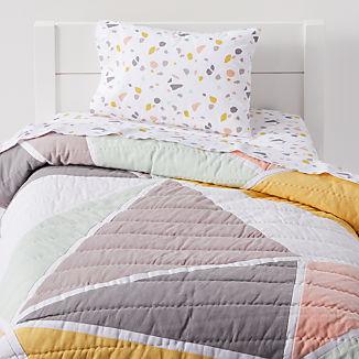 Terazzo Toddler Bedding
