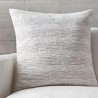 "Tess 23"" Pillow with Down-Alternative Insert"