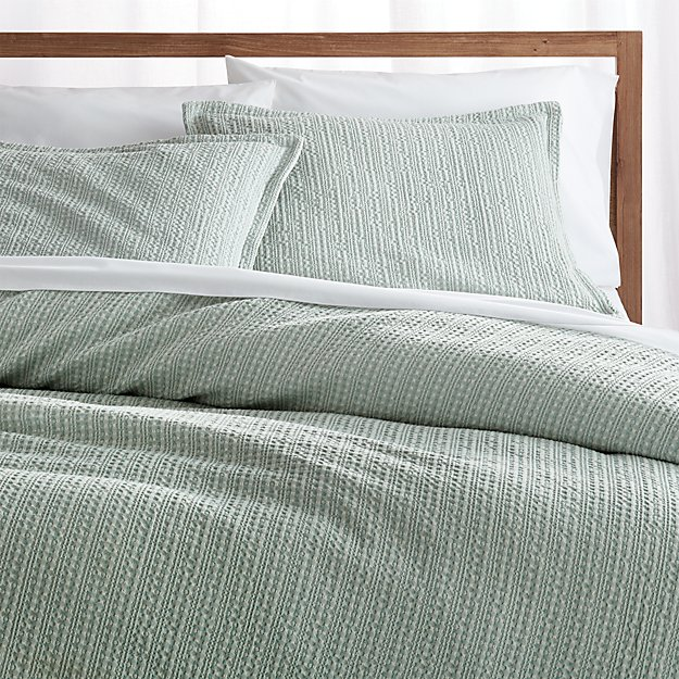 Tessa Aqua Full/Queen Duvet Cover