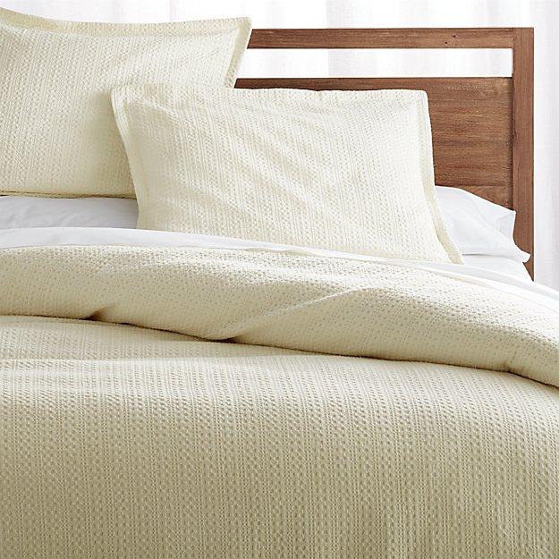Tessa Cream Duvet Covers and Pillow Shams