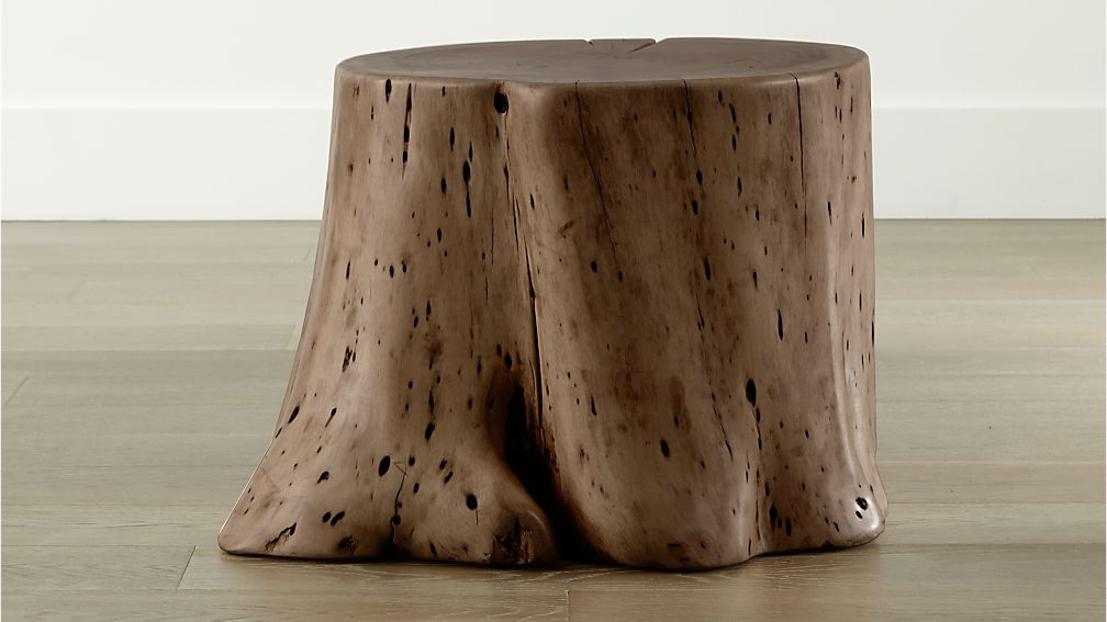 Teton Natural Solid Wood Accent Table - Image 1 of 12