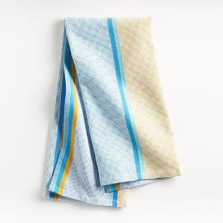 Blue Texture Dish Towel