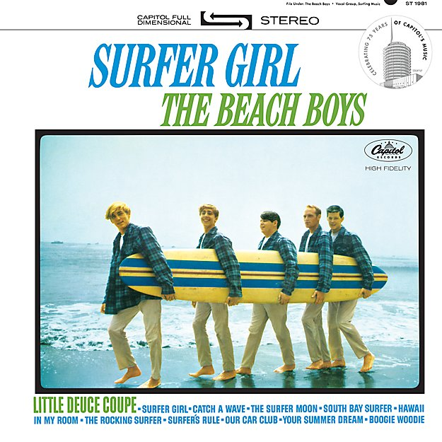 "The Beach Boys ""Surfer Girl"""