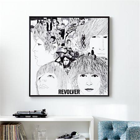 The Beatles-Revolver Album Cover Print