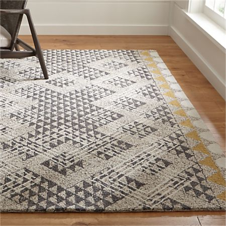 Thea Hand Hooked Wool Rug Crate And