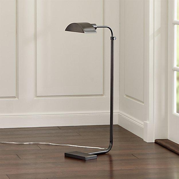 Theorem Patina Bronze Floor Lamp - Theorem Patina Bronze Floor Lamp Crate And Barrel