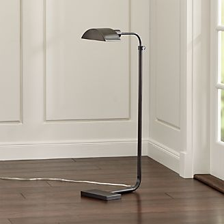 Theorem Patina Bronze Floor Lamp