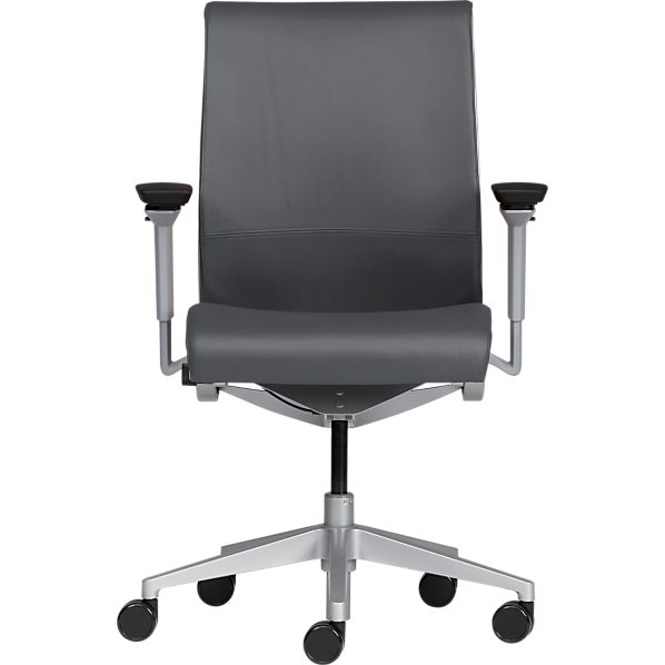 Steelcase ® Think ™ Leather Office Chair