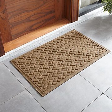 Door Mats And Boot Trays For Indoor Outdoor Crate Barrel
