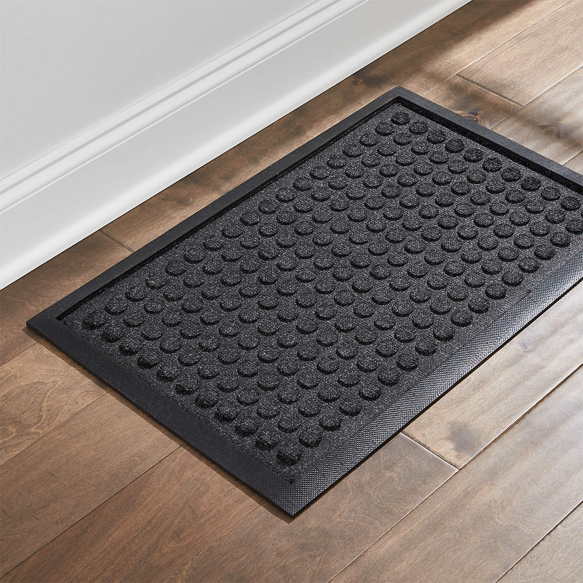 Picture of: Thirsty Dots Boot Tray Food Mat Reviews Crate And Barrel
