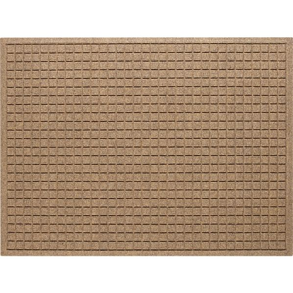 "Thirsty Squares ® Natural 35""x46"" Mat"