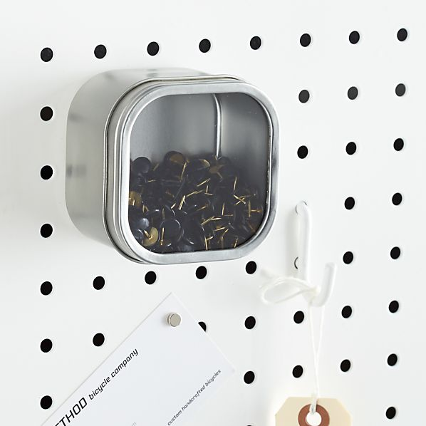 three by three ® Magnetic Tin Box