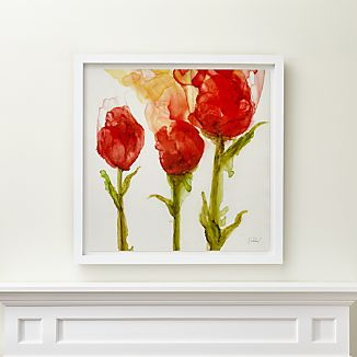Three Tulips Print