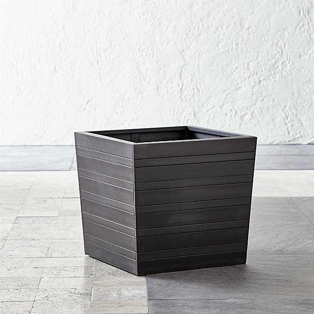 "Alfresco Square 16"" Planter - Image 1 of 4"