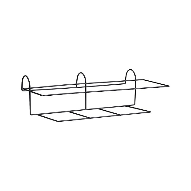 Rectangular Rail Planter Hook Reviews Crate And Barrel