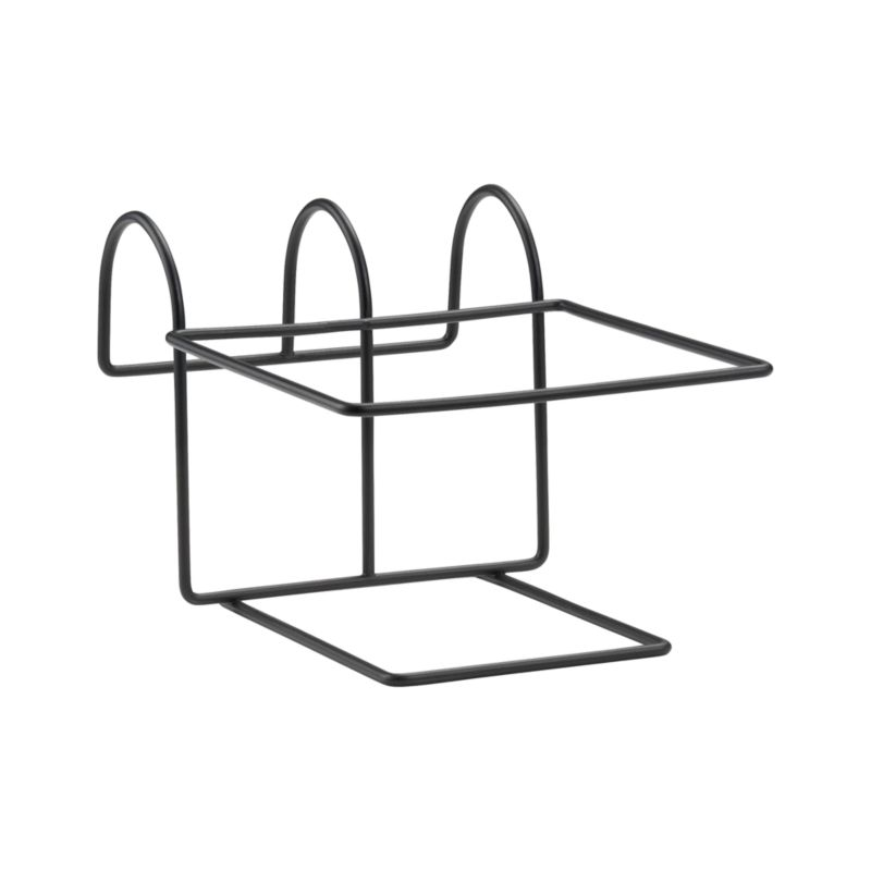 """Optional iron hook holds Tidore Square Planter and easily affixes to railings or fences up to 2.75"""" wide.<br /><br /><NEWTAG/><ul><li>Iron with powdercoat finish</li><li>Accommodates rails up to 2.75"""" wide</li><li>Made in China</li></ul>"""
