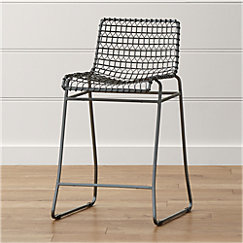 Tig Bar Stools With Cushion Crate And Barrel