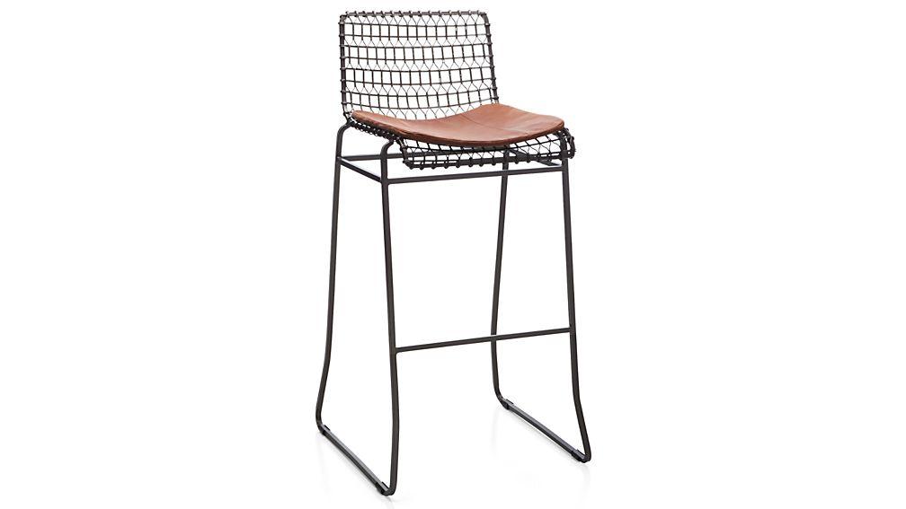 Tig Counter/Bar Stool Leather Cushion