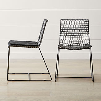 7b1c725a9413 Tig Metal Dining Chair and Cushion