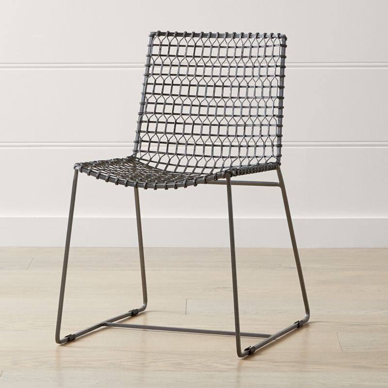 sc 1 st  Crate and Barrel & Tig Metal Dining Chair + Reviews | Crate and Barrel