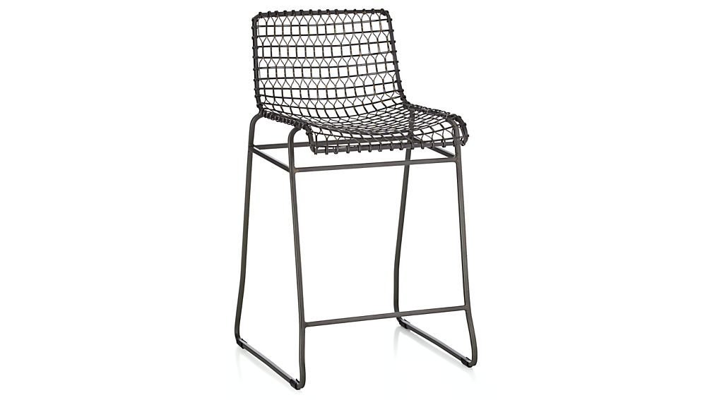 ... Tig Metal Counter Stool ...  sc 1 st  Crate and Barrel & Tig Metal Counter Stool | Crate and Barrel islam-shia.org