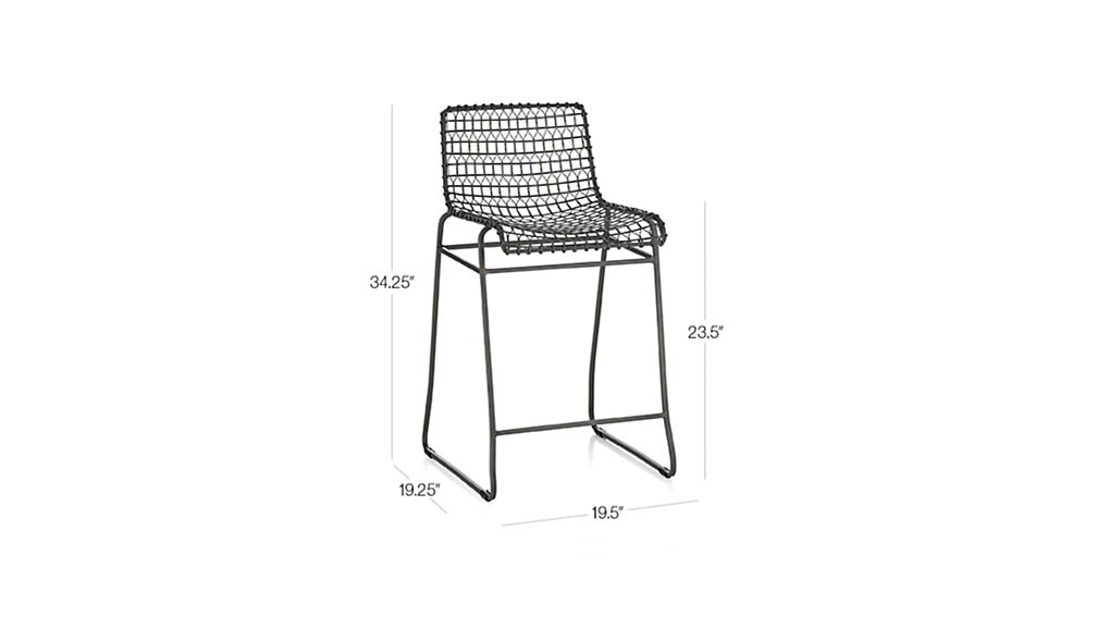 Tig Metal Counter Stool Crate And Barrel