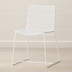 Tig White Dining Chair
