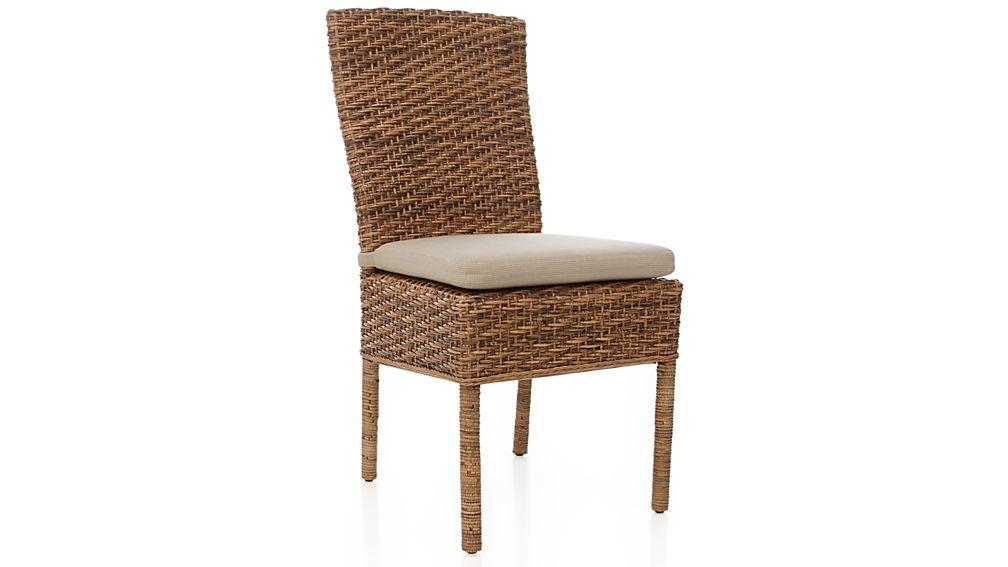 Tigris Natural Woven Side Chair Cushion