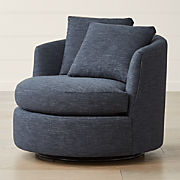 Fantastic Living Room Chairs Accent Swivel Crate And Barrel Caraccident5 Cool Chair Designs And Ideas Caraccident5Info
