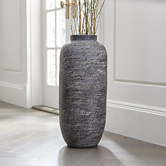 Timber Grey Floor Vase