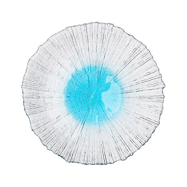 Tinge Aqua Plate