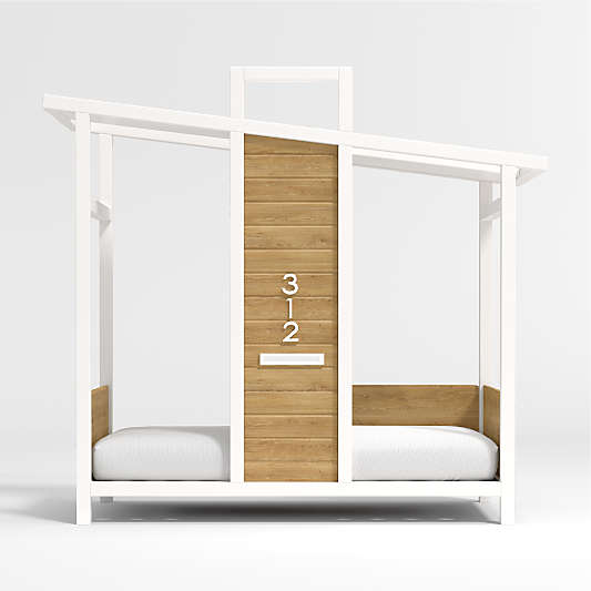 Tiny House Toddler Bed