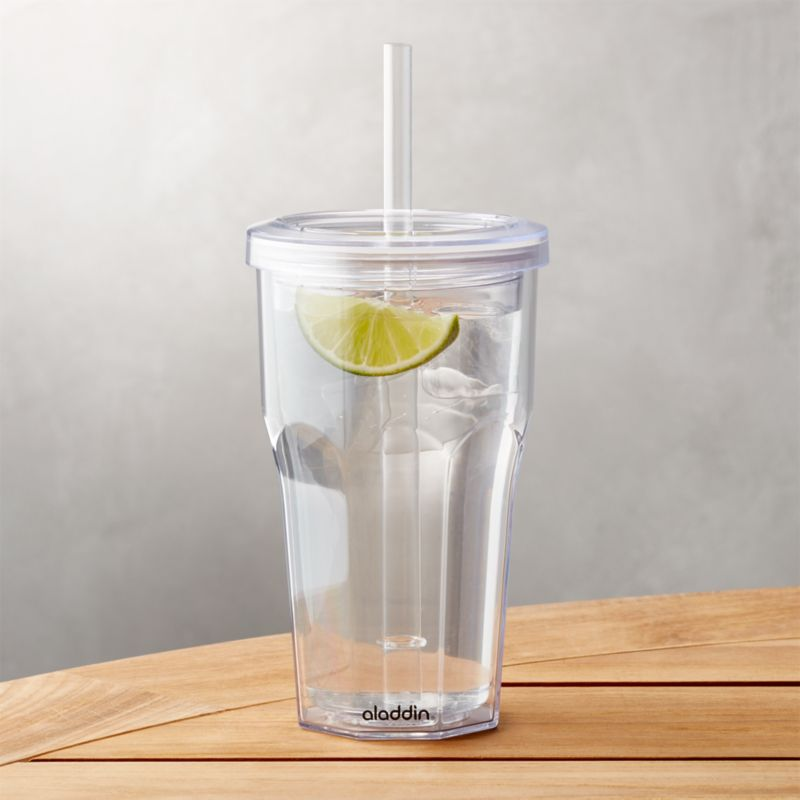 To Go Tumbler Acrylic 16 Oz Reviews Crate And Barrel