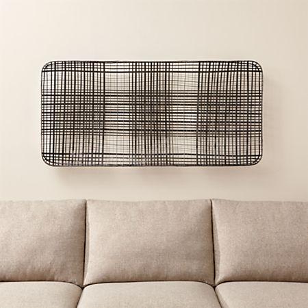 Basket Metal Wall Art