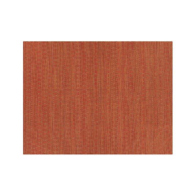 Tochi Coral Orange 9'x12' Rug