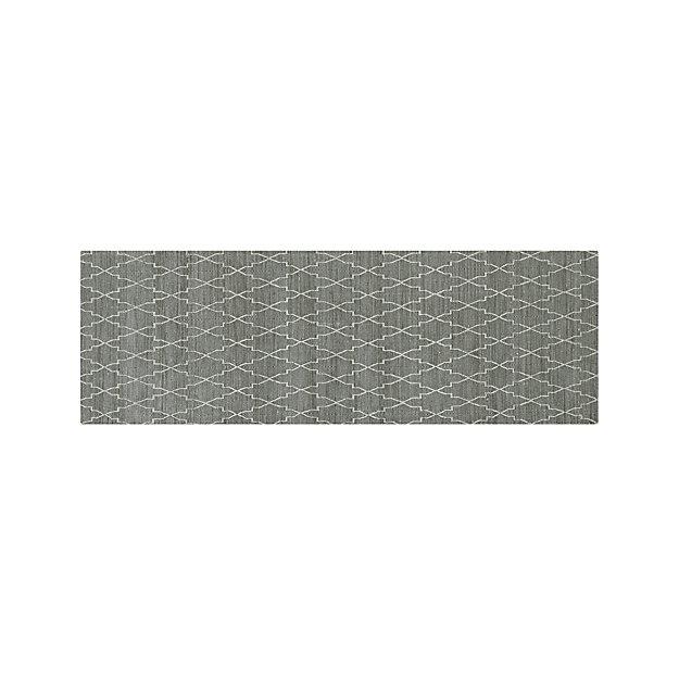 Tochi Grey 2.5'x7' Rug Runner