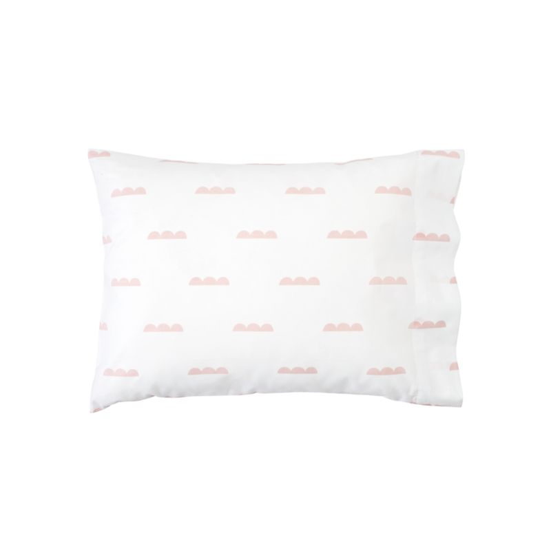 pink and white toddler pillowcase reviews crate and barrel - Toddler Pillow Case