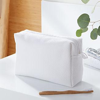 White Turkish Toiletry Bag