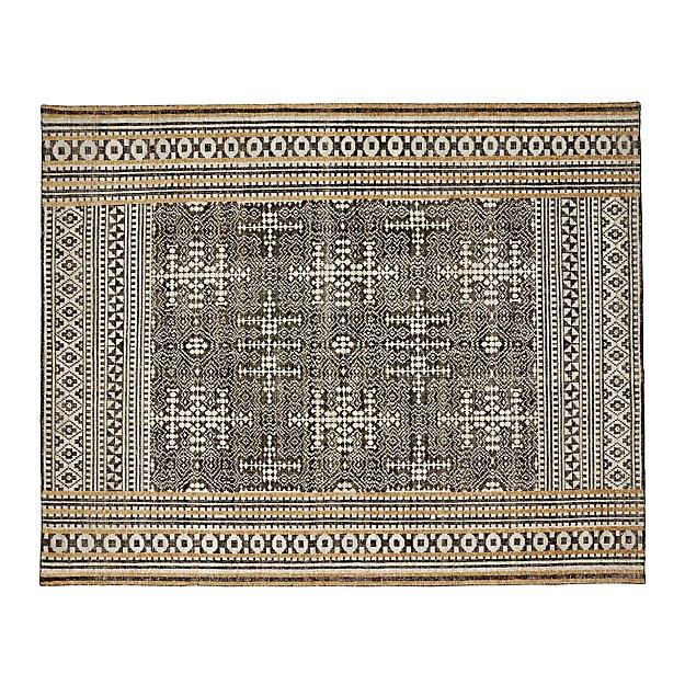 Tolliver Mocha Wool-Blend 8'x10' Rug