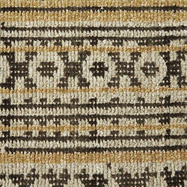 "Tolliver Mocha Wool-Blend 12"" sq. Rug Swatch"